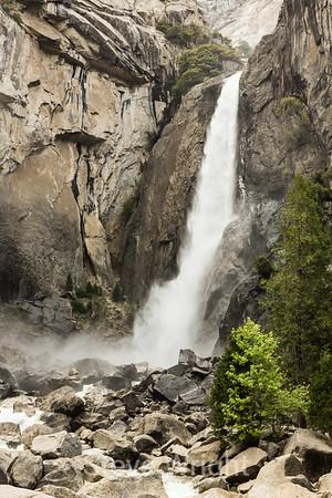 Lower Yosemite Falls - 2014