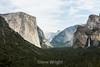 El Capitan, Bridal Veil Falls, Cathedral Rocks - Yosemite #7503