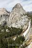Mt  Broderick, Liberty Cap, Nevada Falls - Yosemite #7896