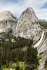Mt  Broderick, Liberty Cap, Nevada Falls - Yosemite #7899