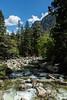 Merced River, base of Yosemite Falls - Yosemite #9454