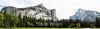 North Dome, Washinton Column, Half Dome - Yosemite #8810