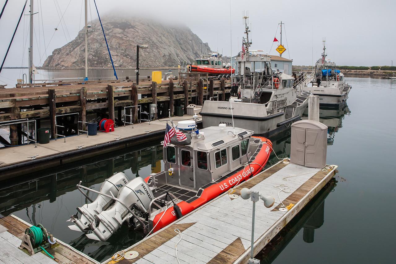 """""""Morro Bay Coast Guard Boats"""""""
