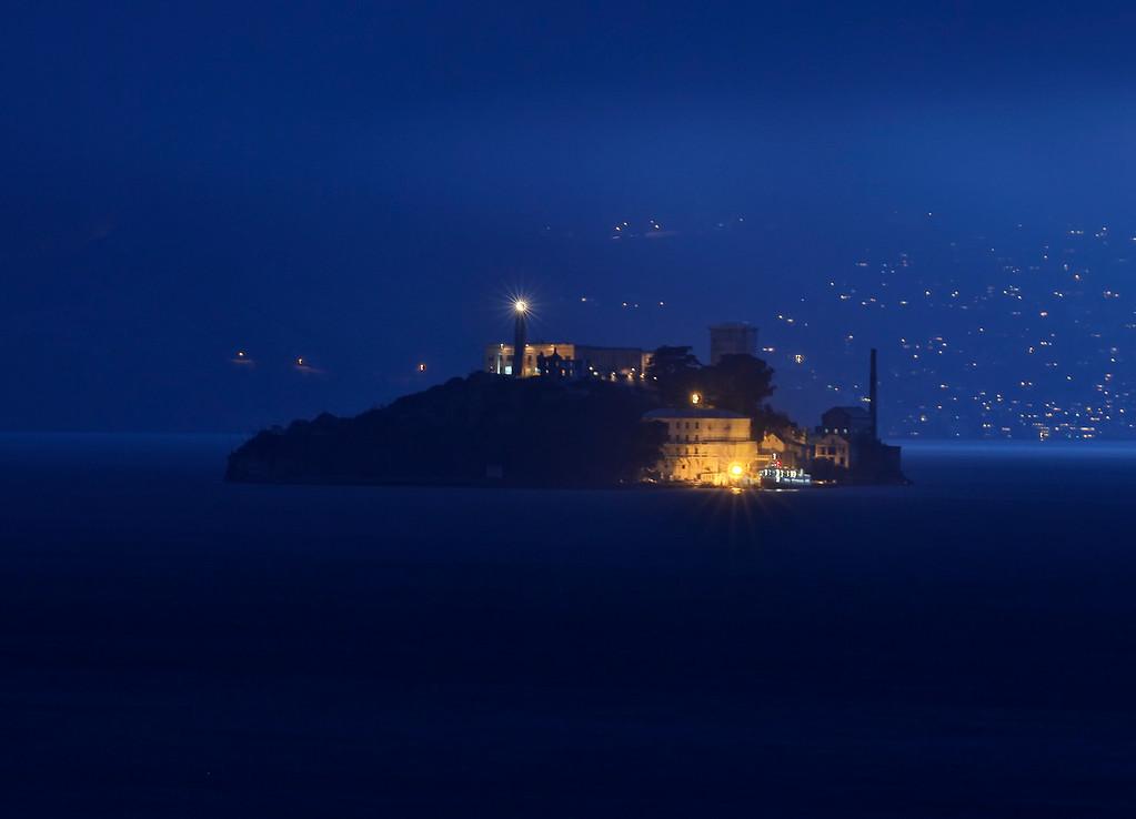 Foggy Alcatraz