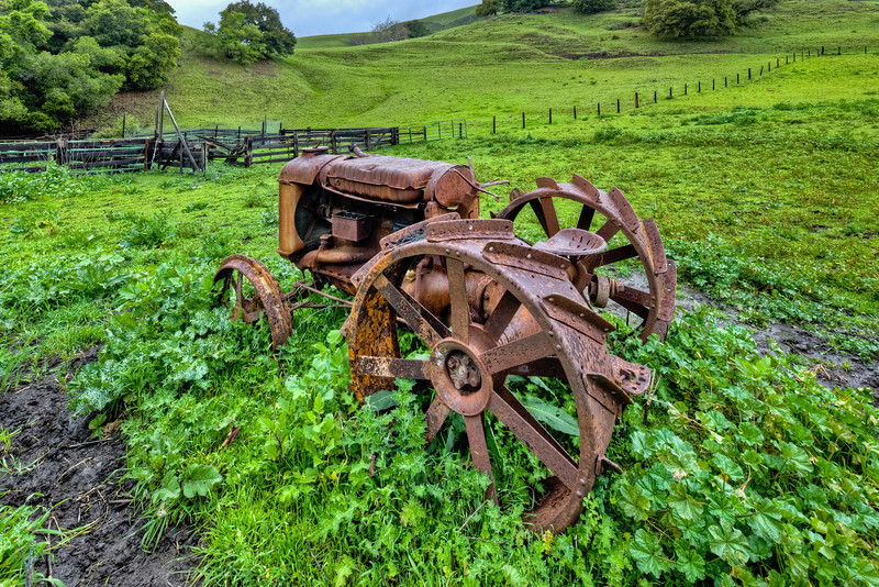 """""""Fordson Tractor and Farm"""""""