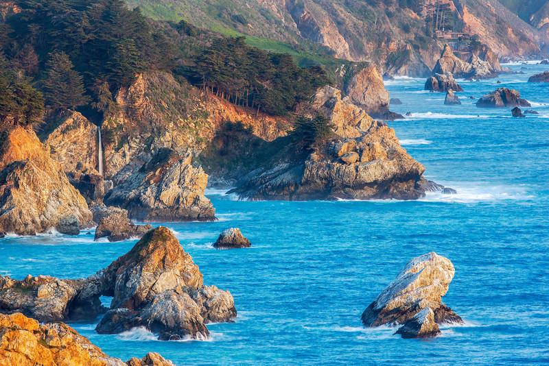 """""""McWay Falls and Big Sur Coastline"""""""