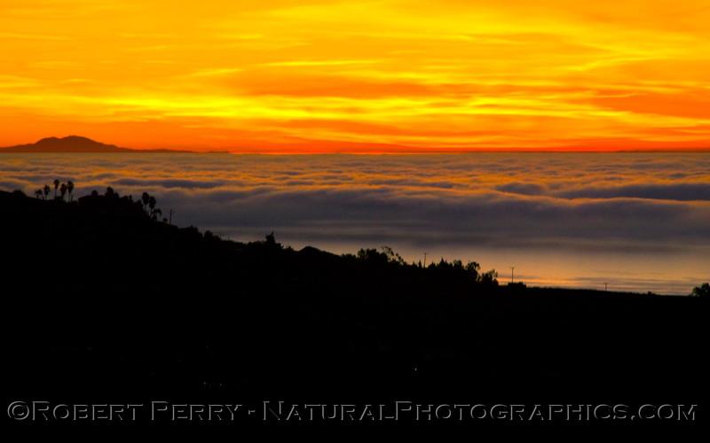 waves of fog sunrise malibu coast 2008 12-01 kanan dume rd - 12modrot