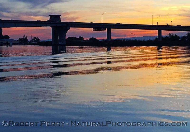 tower park bridge sunset 2016 11-05 Delta - Lodi