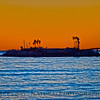 Rincon oil island afternoon sun 2014 12-22 Mussel Shoals-006