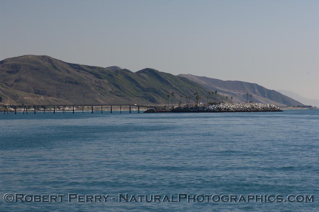 The Oil Island, Ventura coast.