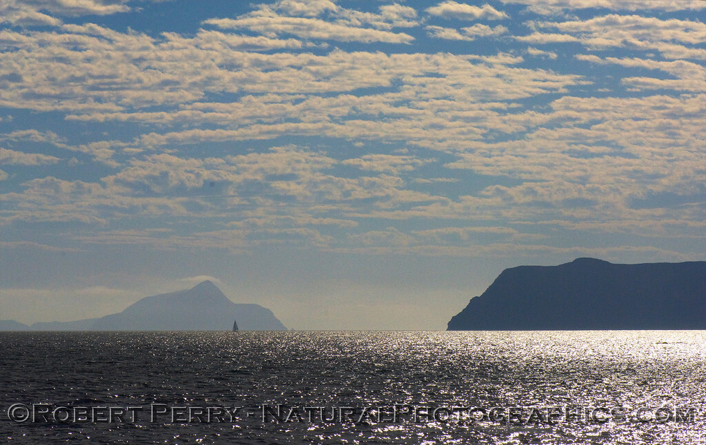 Anacapa Passage, looking southeast.