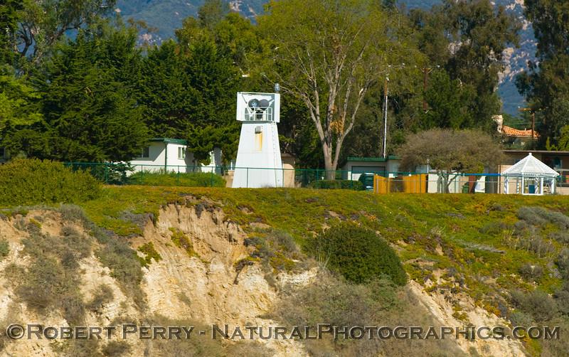 Santa Barbara Point with Light.