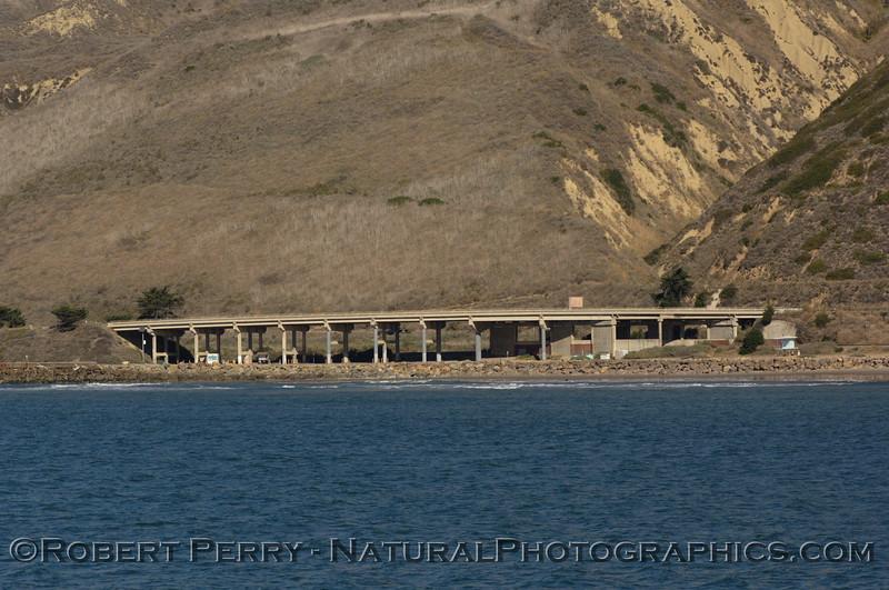 "Bridge, Highway One, Ventura, California.  ""The Overhead."""
