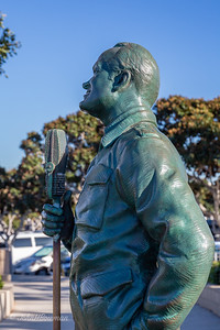 Monument to Bob Hope's USO Tours, Tuna Harbor Park