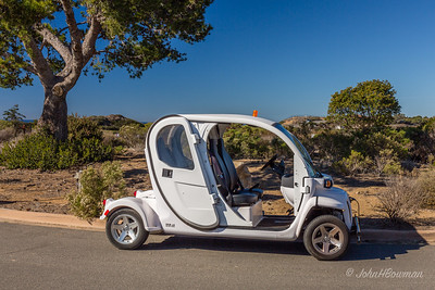 National Park Service Electric Car, Cabrillo National Monument