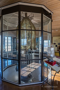 3rd-order Fresnel Lens - Museum Display at Old Point Loma