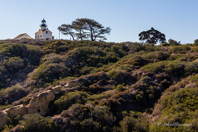 Old Point Loma Lighthouse from Cabrillo National Monument