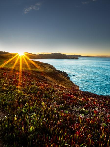 Sunrise, Marin Headlands,