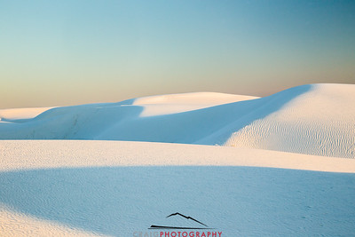 White Sands Sunset 1
