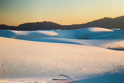 White Sands Sunset 2
