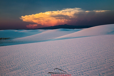 White Sands Sunset 4