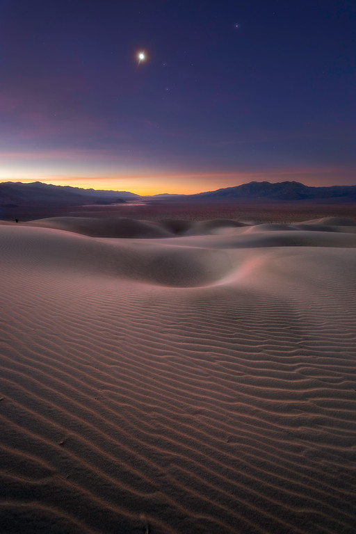 Panamint Dunes at Dawn