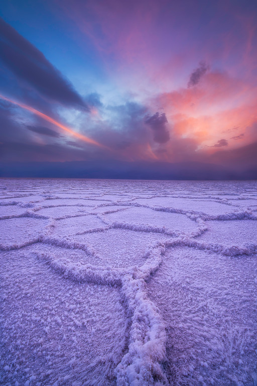 Sand Storm in Badwater