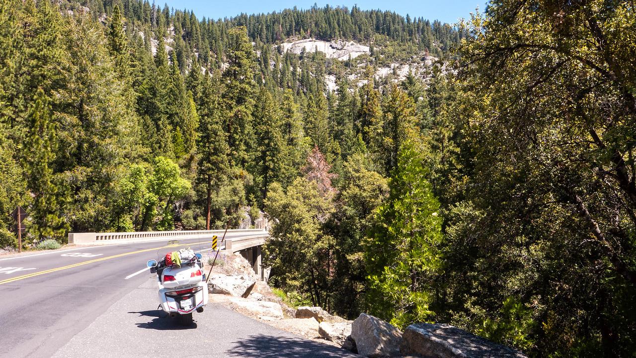 Entering Yosemite Valley