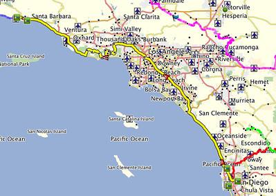 Day 2 - San Diego to Santa Barbara