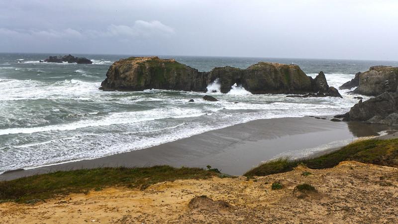 Windy Beach at Bandon