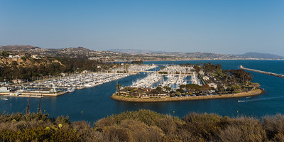 The harbor at Dana Point, CA - our new home.