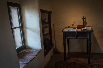 Here's one of the rooms where the Spanish padres (priests) lived.