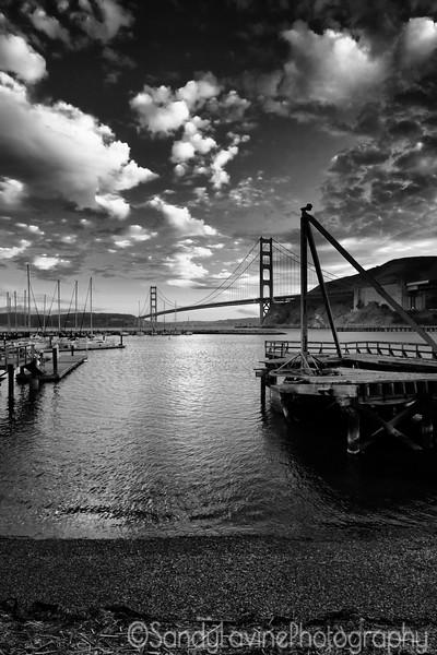 GG Bridge From The Presidio Yacht Club