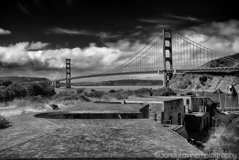 GG Bridge from Battery Yates