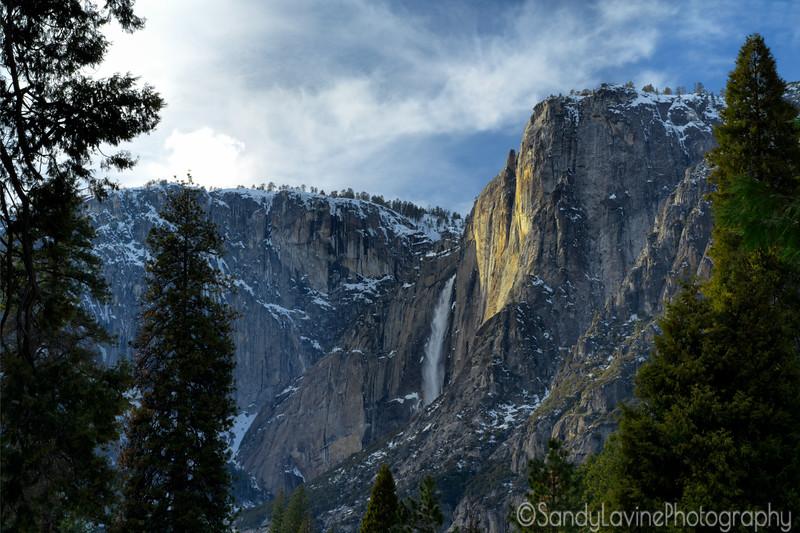 Yosemite Framed Falls