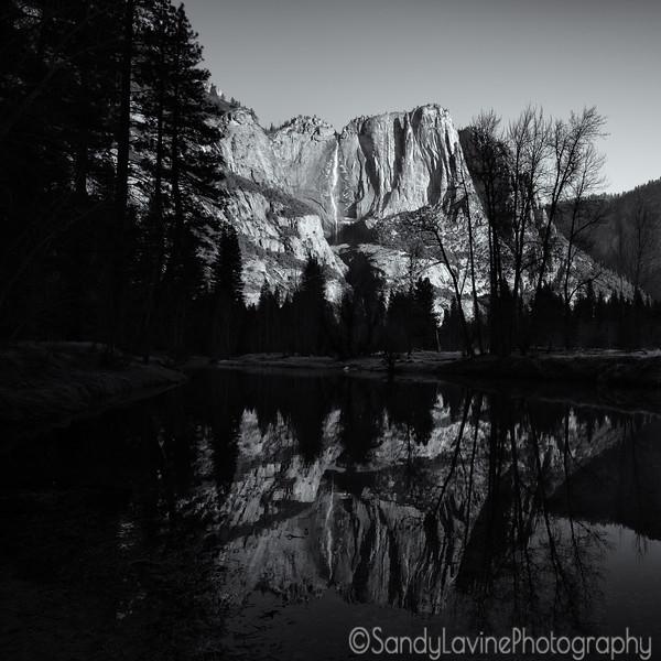 Yosemite Fall from Swinging Bridge