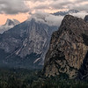 Half Dome and Bridalveil from Tunnel View