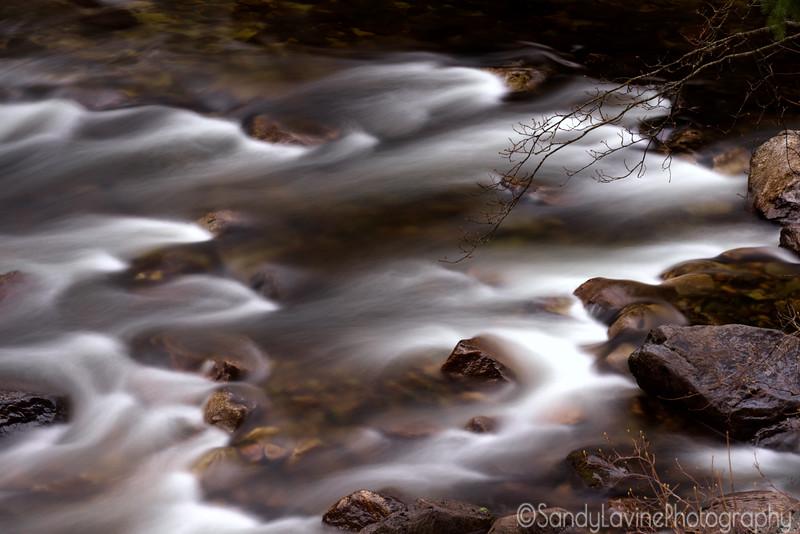 Merced River From the Pohono Bridge