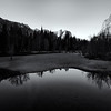 Yosemite Valley From Swinging Bridge