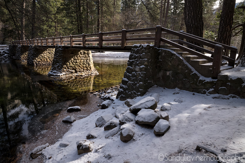 Half Dome Village Bridge