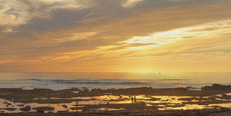 """Fitzgerald Marine Reserve - Grand Scale """"Two-Pass"""" Detail"""