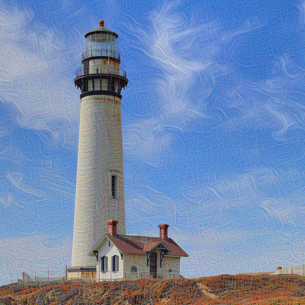 Pigeon Point Lighthouse - Detail #2