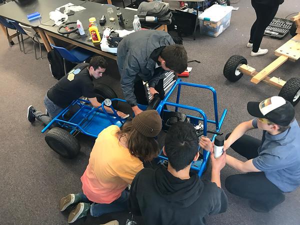 5-18-19 Go Cart build in Mr Johnson's Class-1