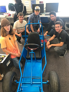 5-18-19 Go Cart build in Mr Johnson's Class-15