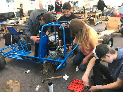 5-18-19 Go Cart build in Mr Johnson's Class-18