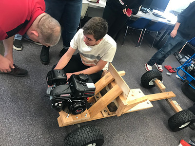 5-18-19 Go Cart build in Mr Johnson's Class-13