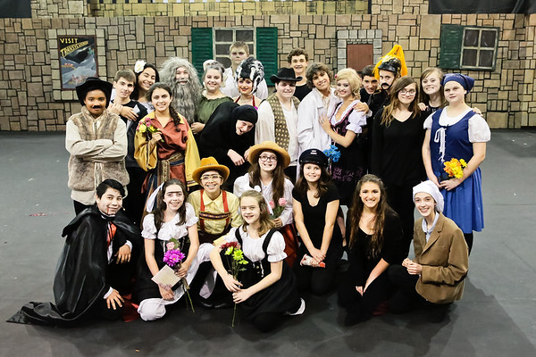 3-29-15 Cast Young Frankenstein - No Randy-1073
