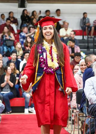 6-7-18 CUHS Graduation - Beginning-9521