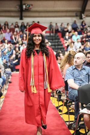 6-7-18 CUHS Graduation - Beginning-9504