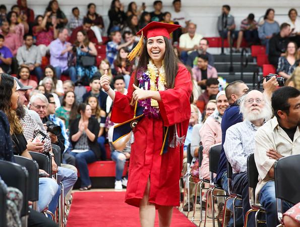 6-7-18 CUHS Graduation - Beginning-9520